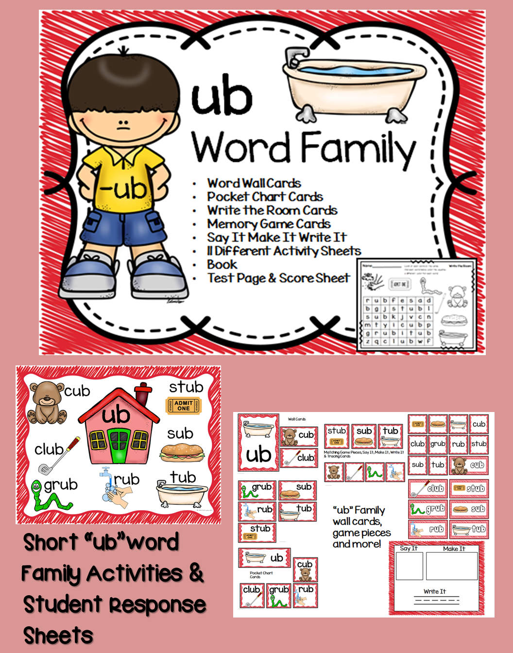 Ub Word Family Centers