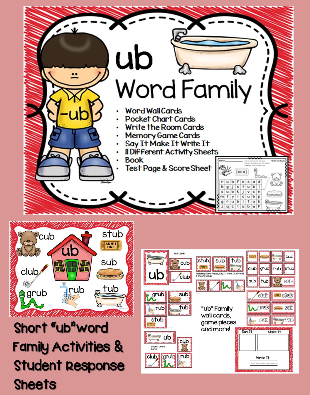 Ub Word Family Centers