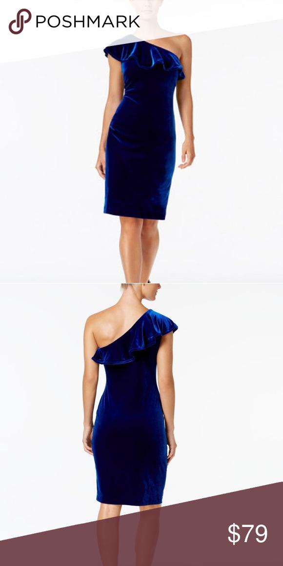 43+ Blue velvet calvin klein dress inspirations