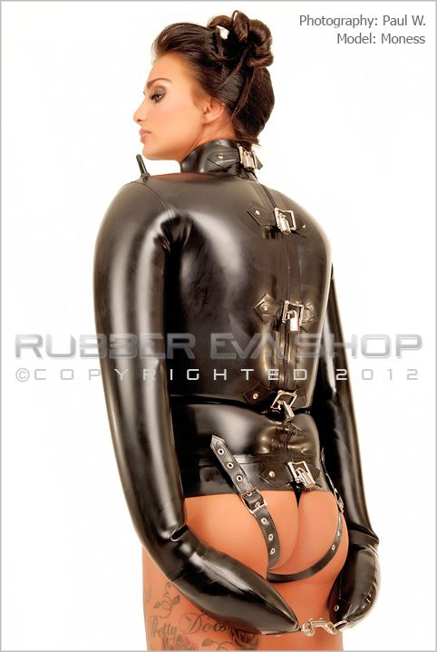 Inflatable Rubber Straight Jacket - Rubber Bondage - Rubber Eva