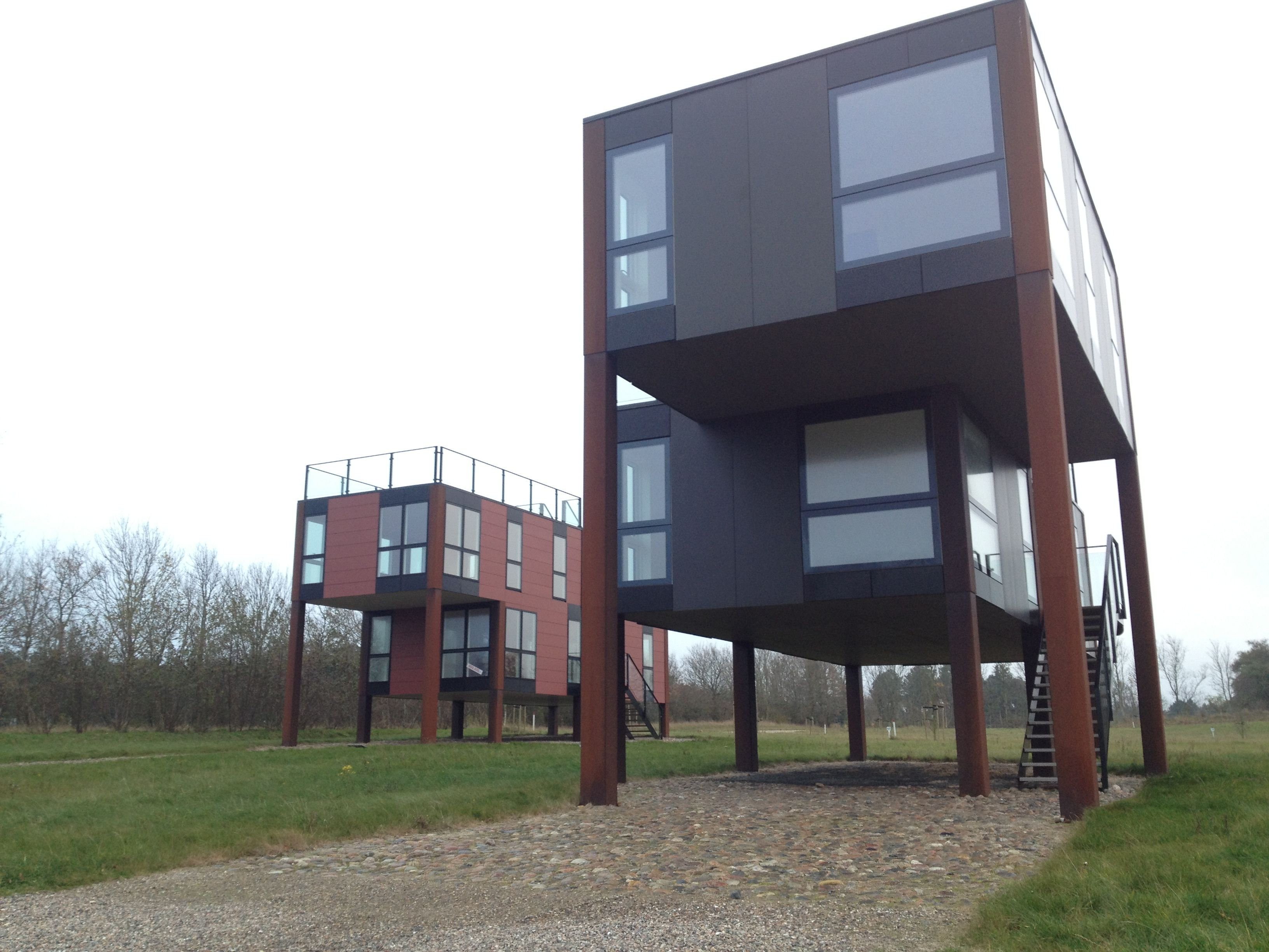 House On Stilts Buildings And Homes Pinterest