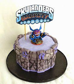 Cake Blog Skylanders Cake Tutorial Easter bonnet Pinterest