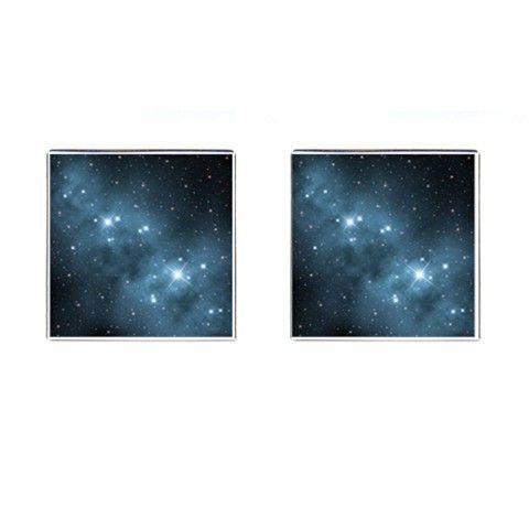 Fantasy Star Dust Cufflinks (Square)