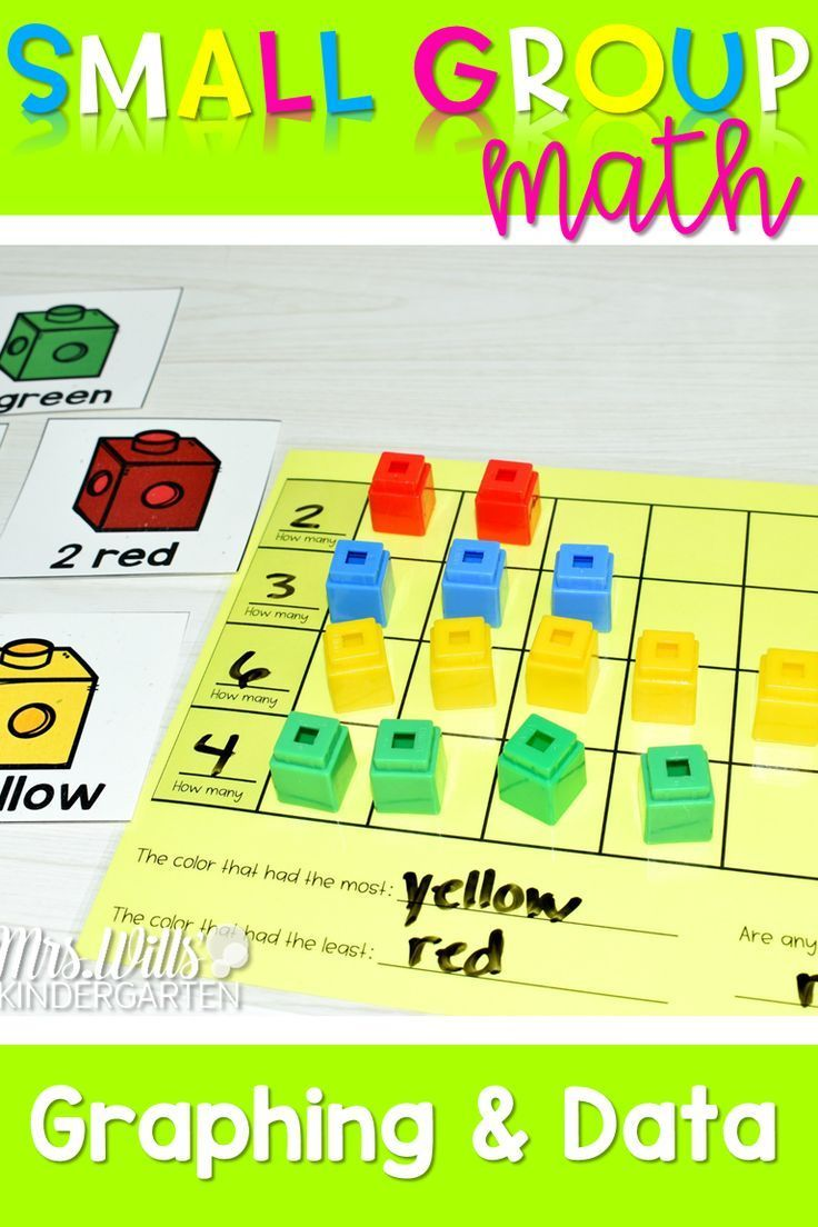 Kindergarten Small Group Guided Math Guided math