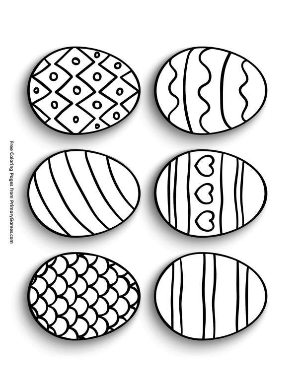 Printable Easter Egg Coloring Page Pesquisa Google Easter Coloring Pages Easter Crafts For Toddlers Coloring Easter Eggs
