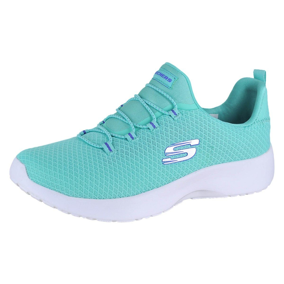 Skechers Dynamight Womens Slip On Sneakers Turquoise 8.5 XOhVltt3gP
