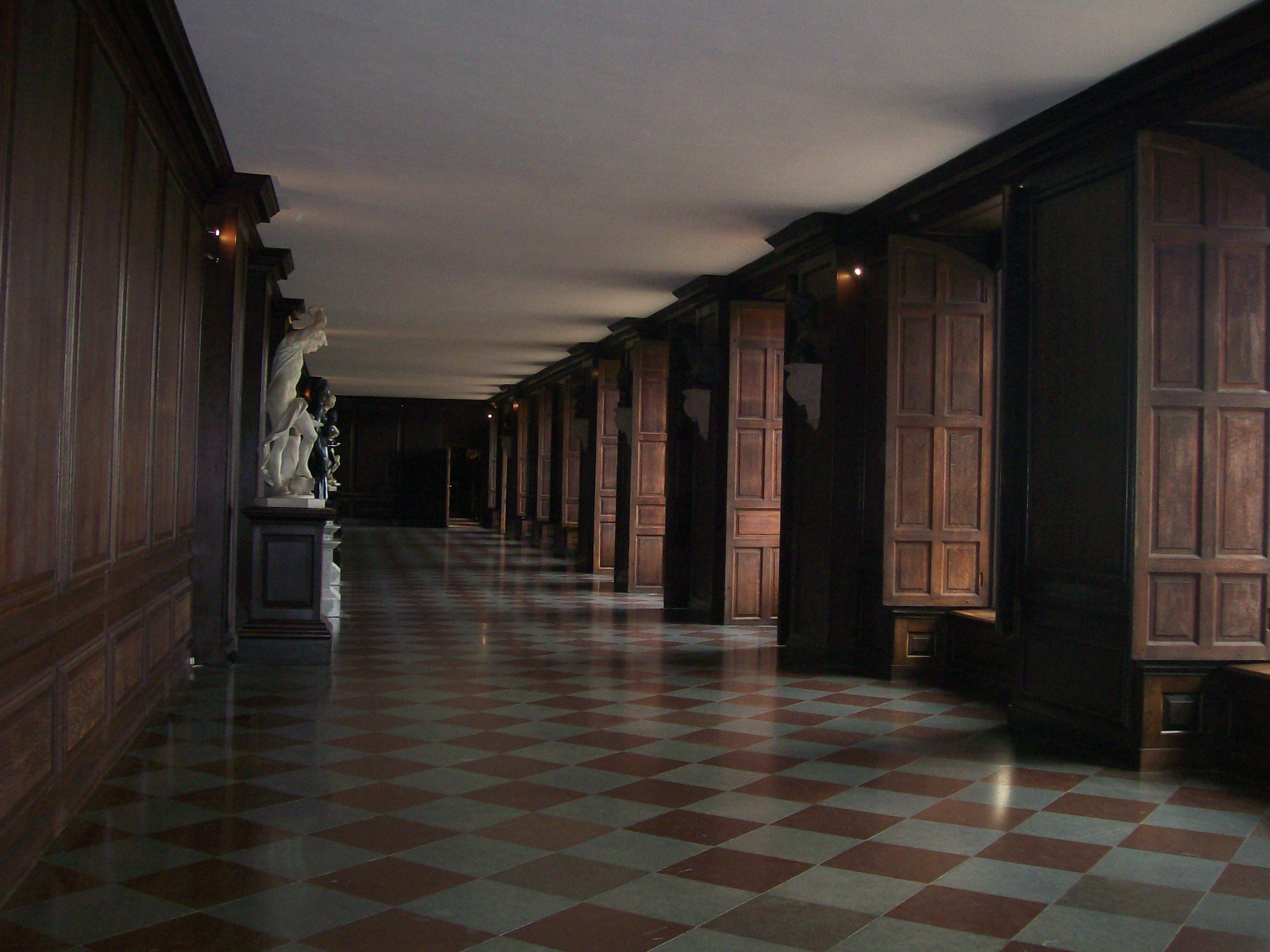 Inside Hampton Court - England