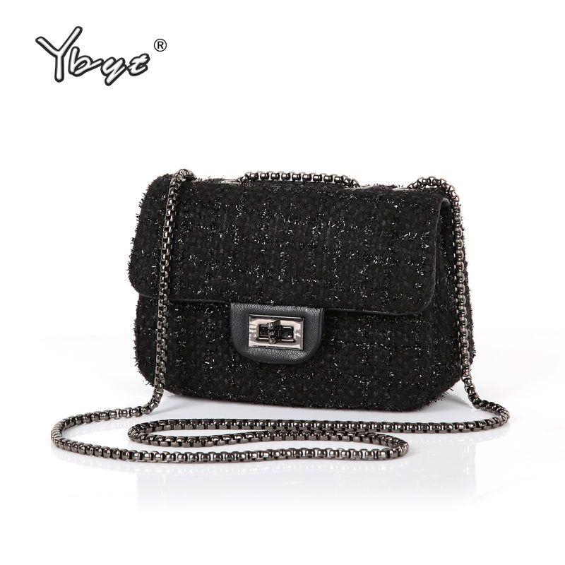 Bag · YBYT brand 17 new fashion joker wool women s flap hotsale ladies  winter evening bags small shoulder a41e246d3e4d6