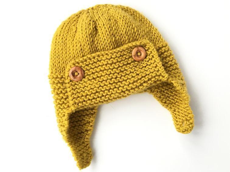 Baby Aviator Hat - Regan  9d0c7ff8630
