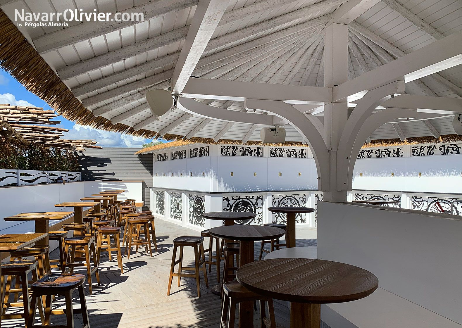 Moorea Beach Club Pampelonne Saint Tropez Madera Para Exterior Construccion En Madera Terraza