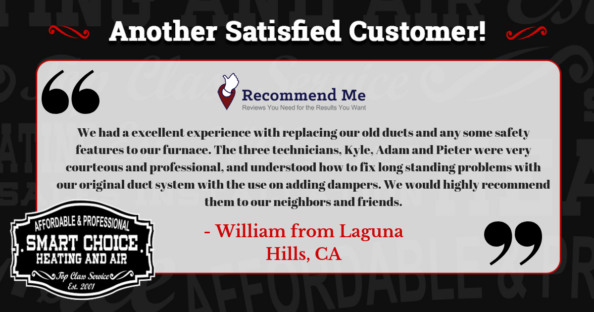 Thank you William for making the SmartChoice! No matter