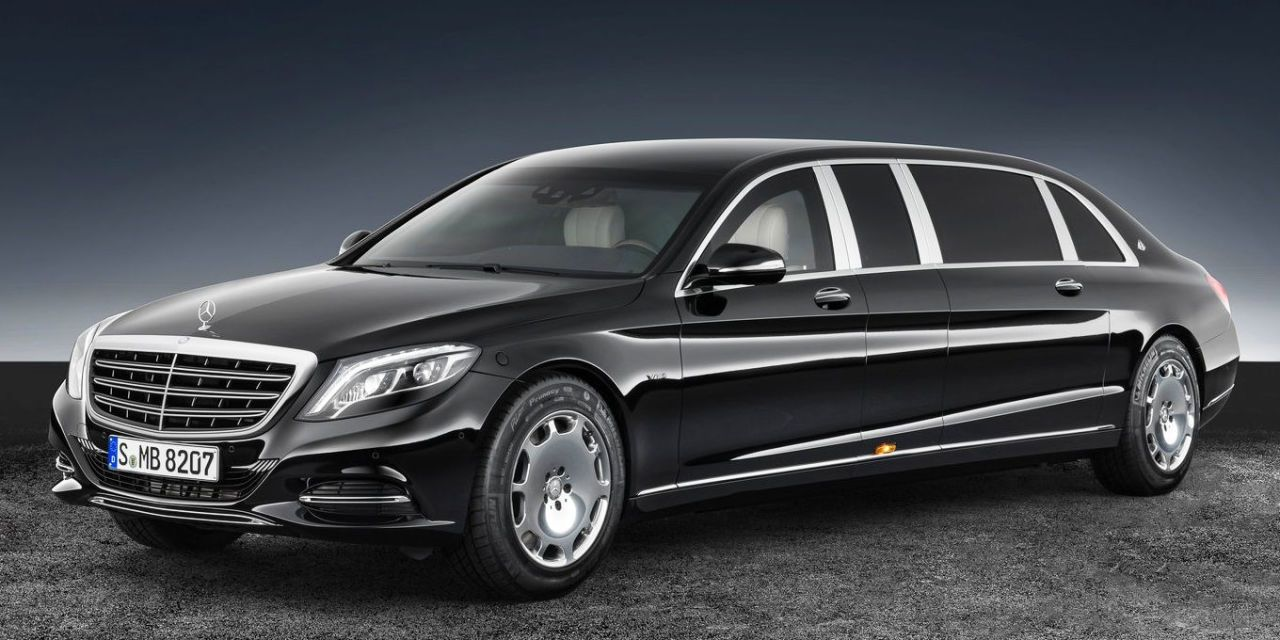 The Mercedes-Maybach S600 Pullman Guard Is the Safest Way to Roll in Luxury