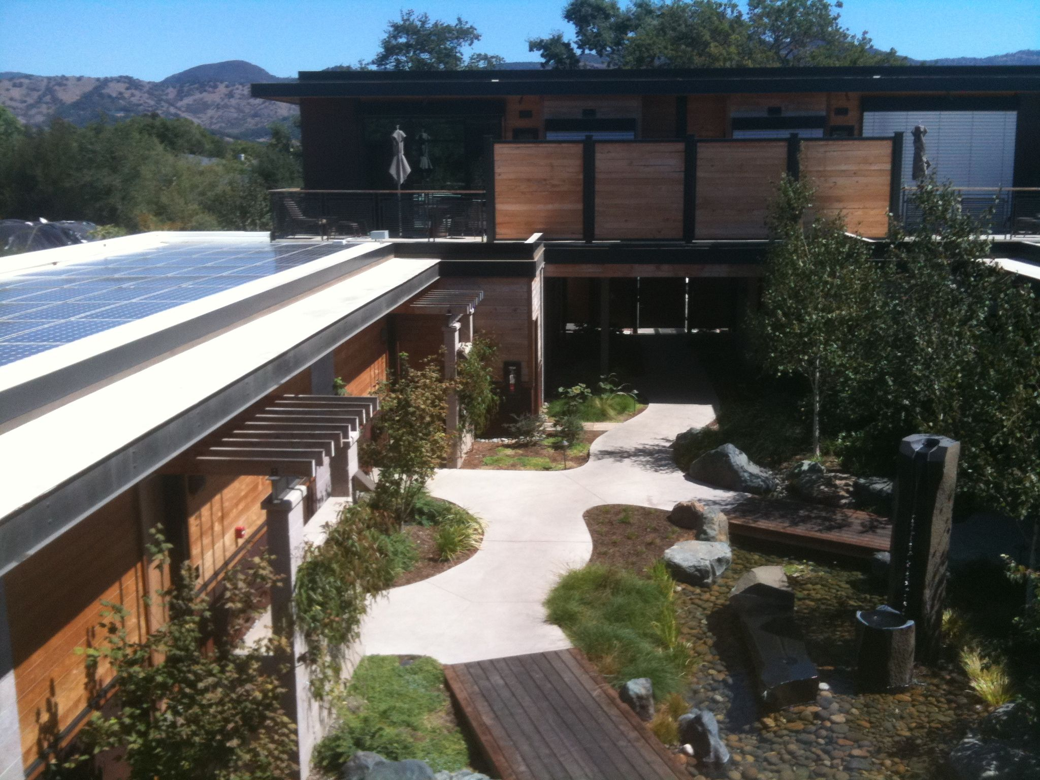Bardesonno Hotel Yountville Ca We Stayed On At The Suite On The