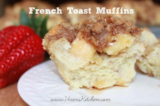 French Toast Muffins - Vixen's Kitchen