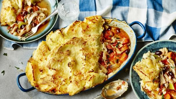 Chicken parmentier recipe leftover roast chicken dishes and tasty forumfinder Images