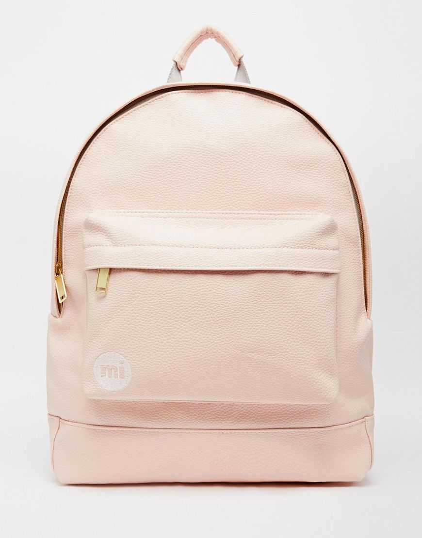 008a09e001bb Mi-Pac Backpack in Tumbled Pastel Pink