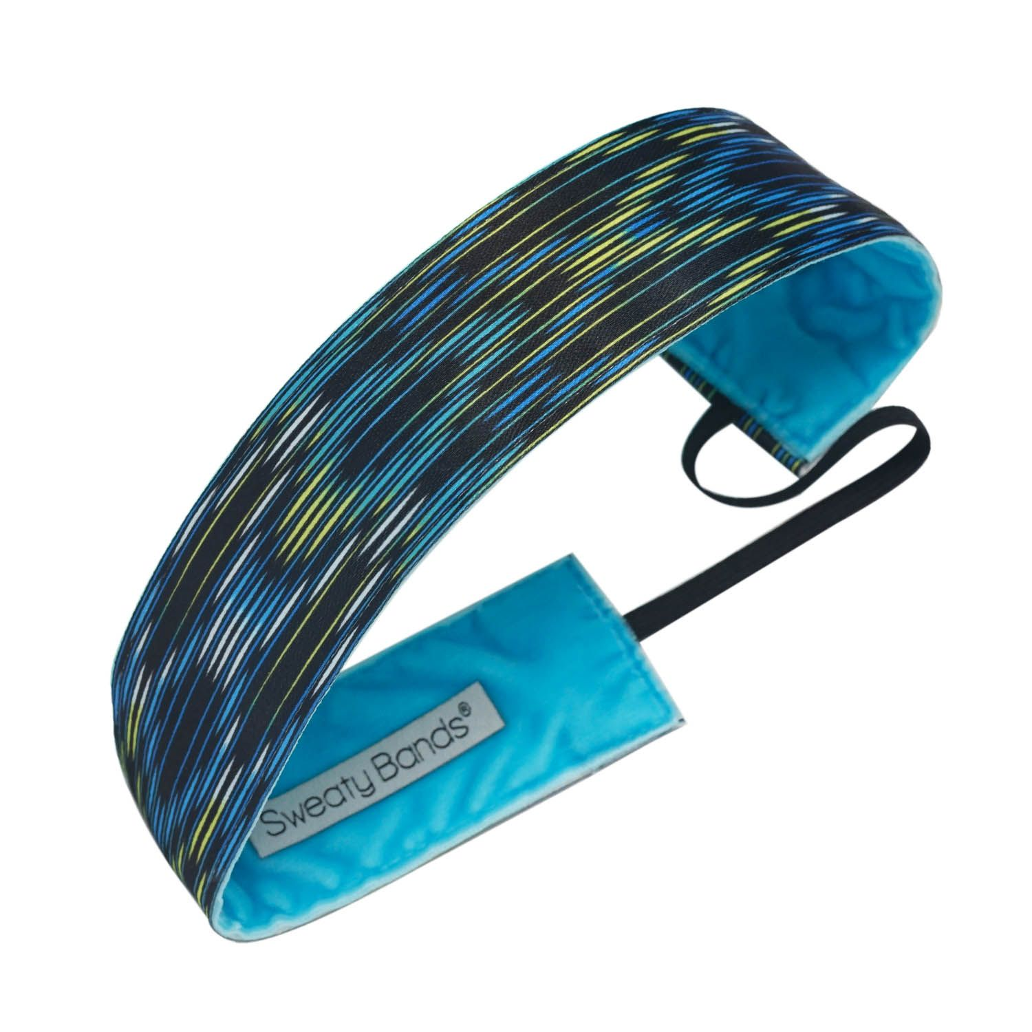 """A headband to get you through both late night and morning light workouts.  Details & Care  95% Polyester, 5% Rubber Elastic Made in the U.S.A. Hand wash, drip dry One size fits most ages 7 & up; approximately 20"""" in circumference Velvet color may vary from image shown"""