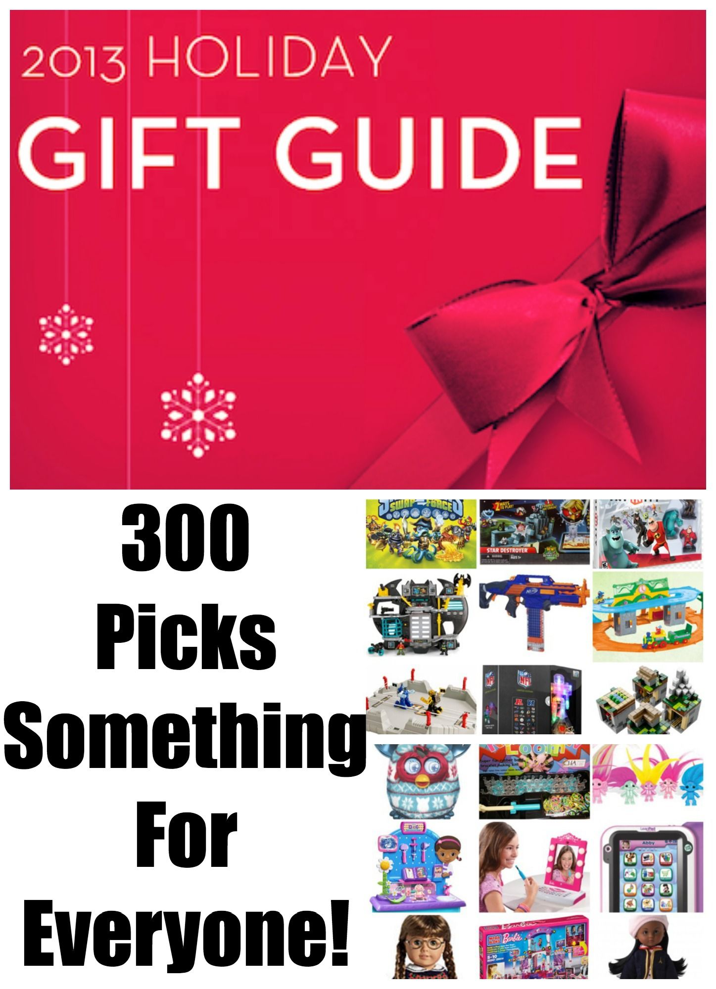 Christmas Gift Guide - Over 300 Picks! Something for everyone #shopping #holiday #giftguide
