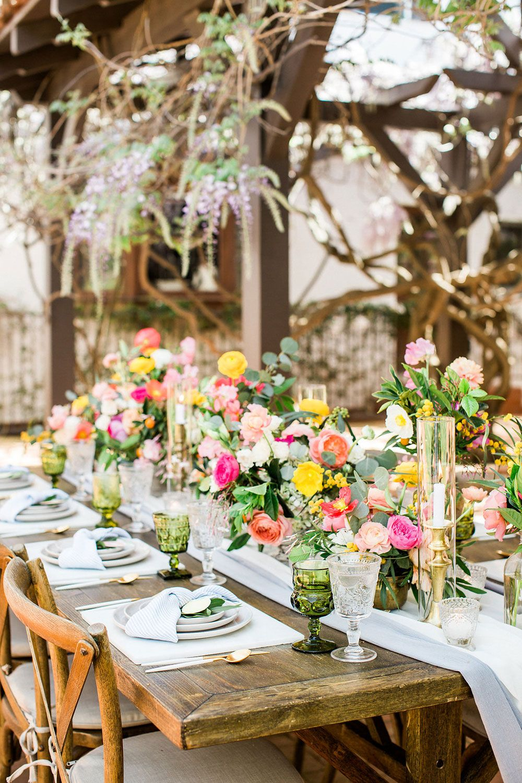 Pretty Romantic Boho Wedding Table Decor Wedding Table Decorations Boho Wedding Decorations Bridal Table Centerpieces