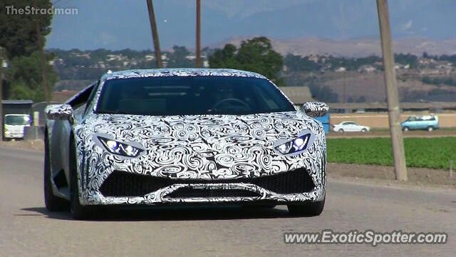 New Lamborghini Huracan LP610-4 in Oxnard CA.