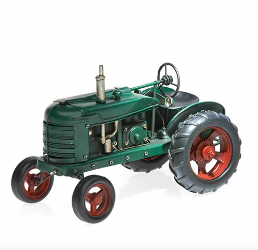 Reinhart Faelens Kunstgewerbe Blech Oldtimer Traktor Dunkelgrun 24 X 14 5 X 15 5 Cm Oldtimer Traktoren Oldtimer Traktor