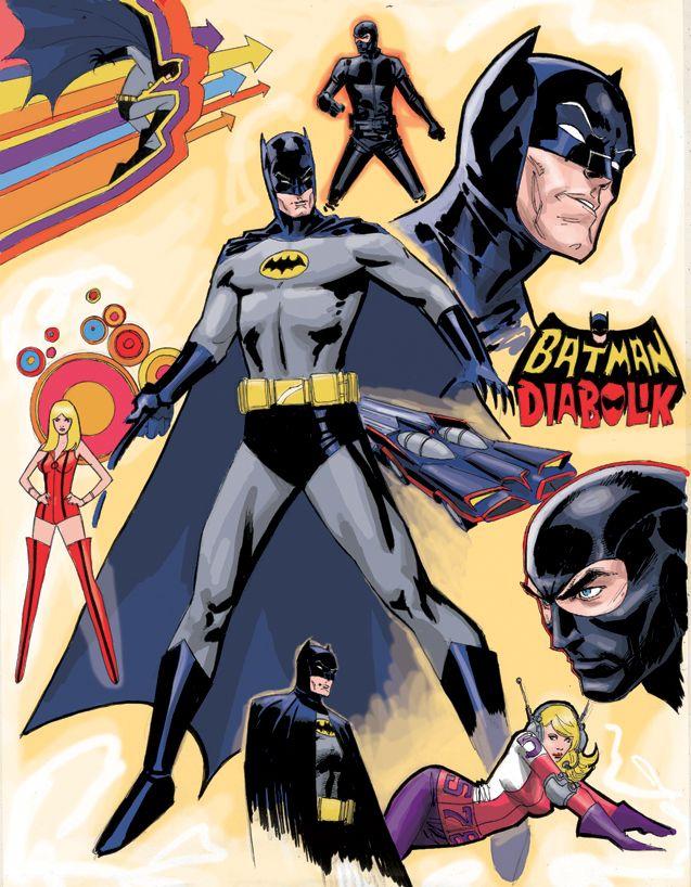 Batman - Dustin Weaver