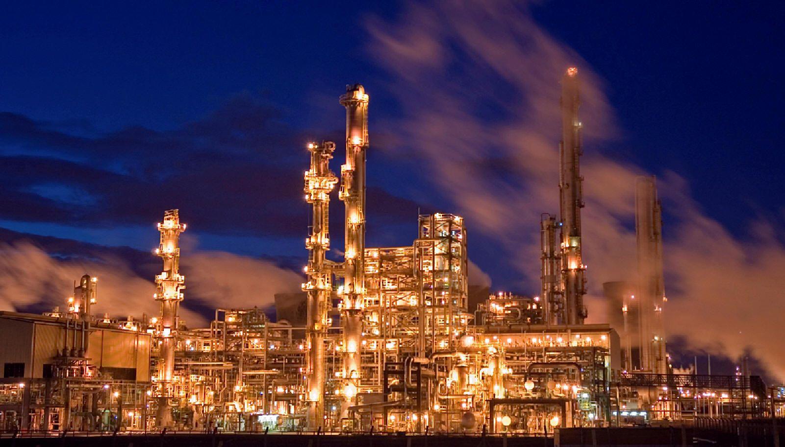 refinery | Metal Dystopia: Science-Fiction Noir in Cities ...