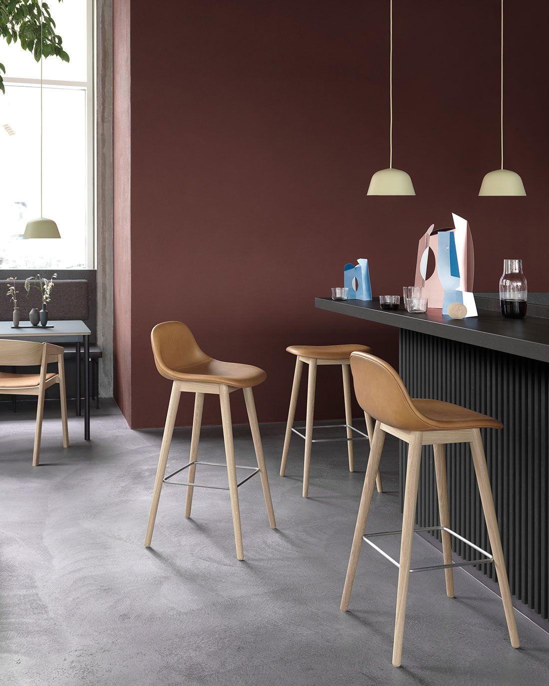 Scandinavian interior inspiration from muuto with an expression that is both comfortable and harmonious