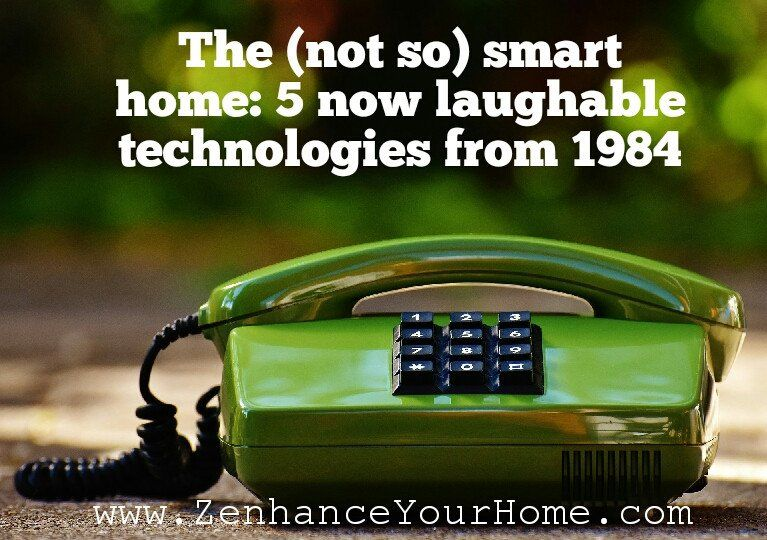 A humorous look back at the home technologies of 1984. 33 years ago! What smart home technology will we be laughing about in 2050? #smarthometechnology