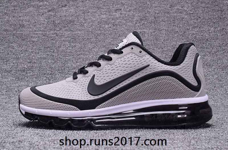 Men's Nike Air Max 2017 KPU Royal Blue White 898013 115 Running Shoes 898013 115