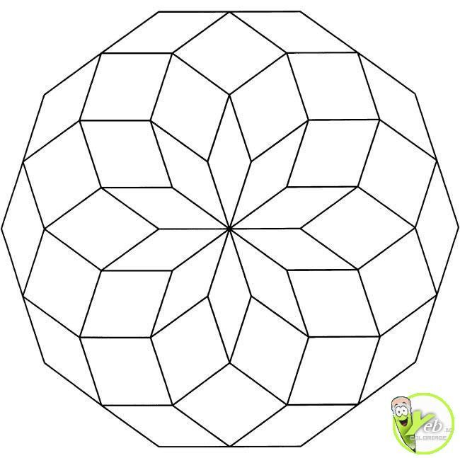 Mandala 3d Tìm Với Google Geometric Coloring Pages Abstract Coloring Pages Mandala Coloring Pages