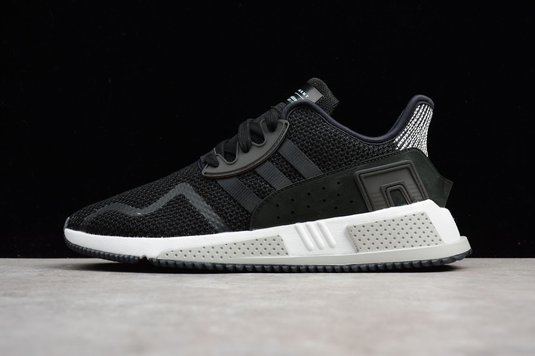 best sneakers 9b550 a1684 2018 UK FR Trainers Adidas Originals EQT Cushion ADV EQT Black White