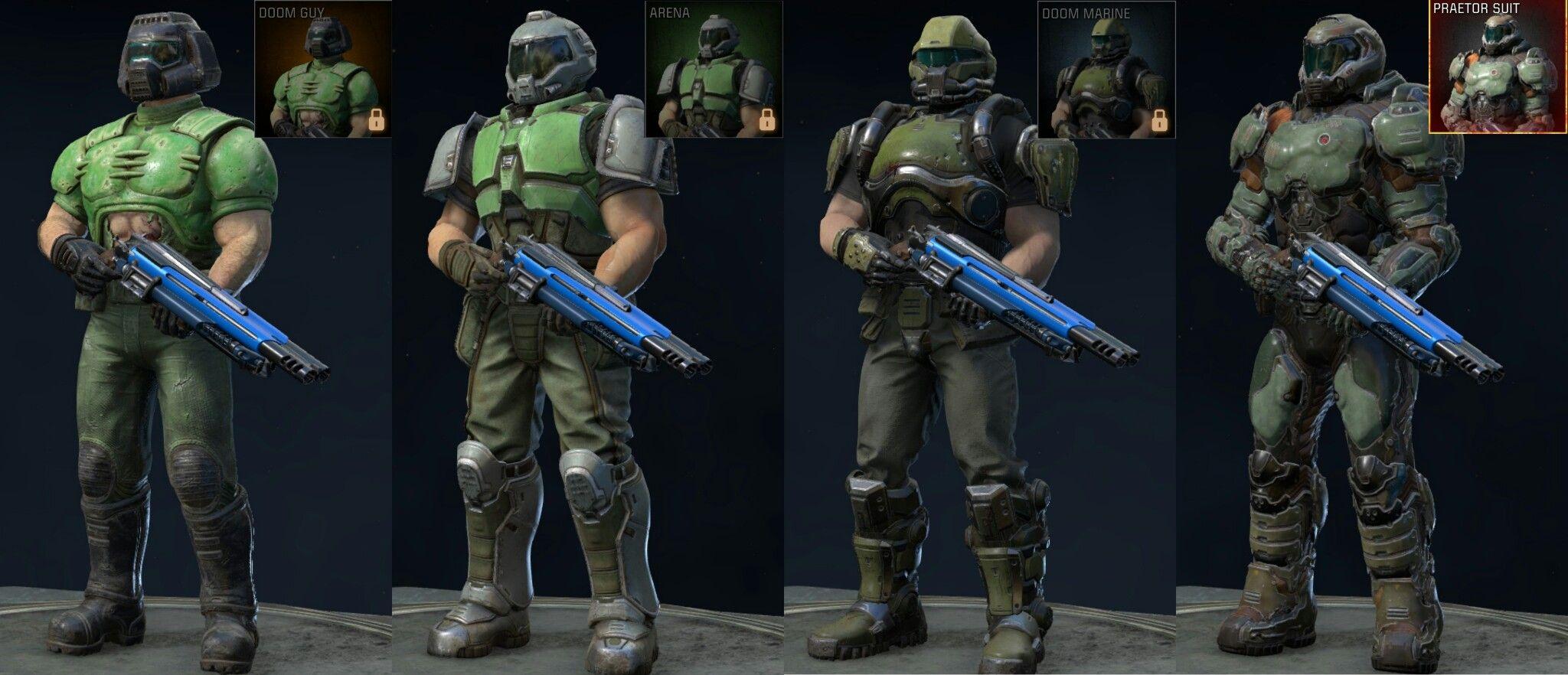Predator Doom Multiplayer Praetor Suit