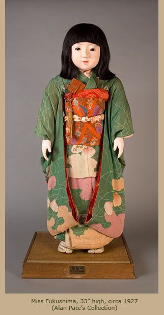 Miss Oshima Anese Friendship Dolls Art In Focus Antique
