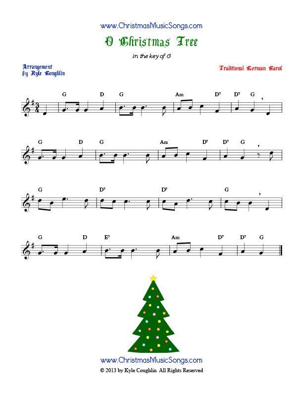 O Christmas Tree Free Sheet Music Free Sheet Music Sheet Music Tree Free