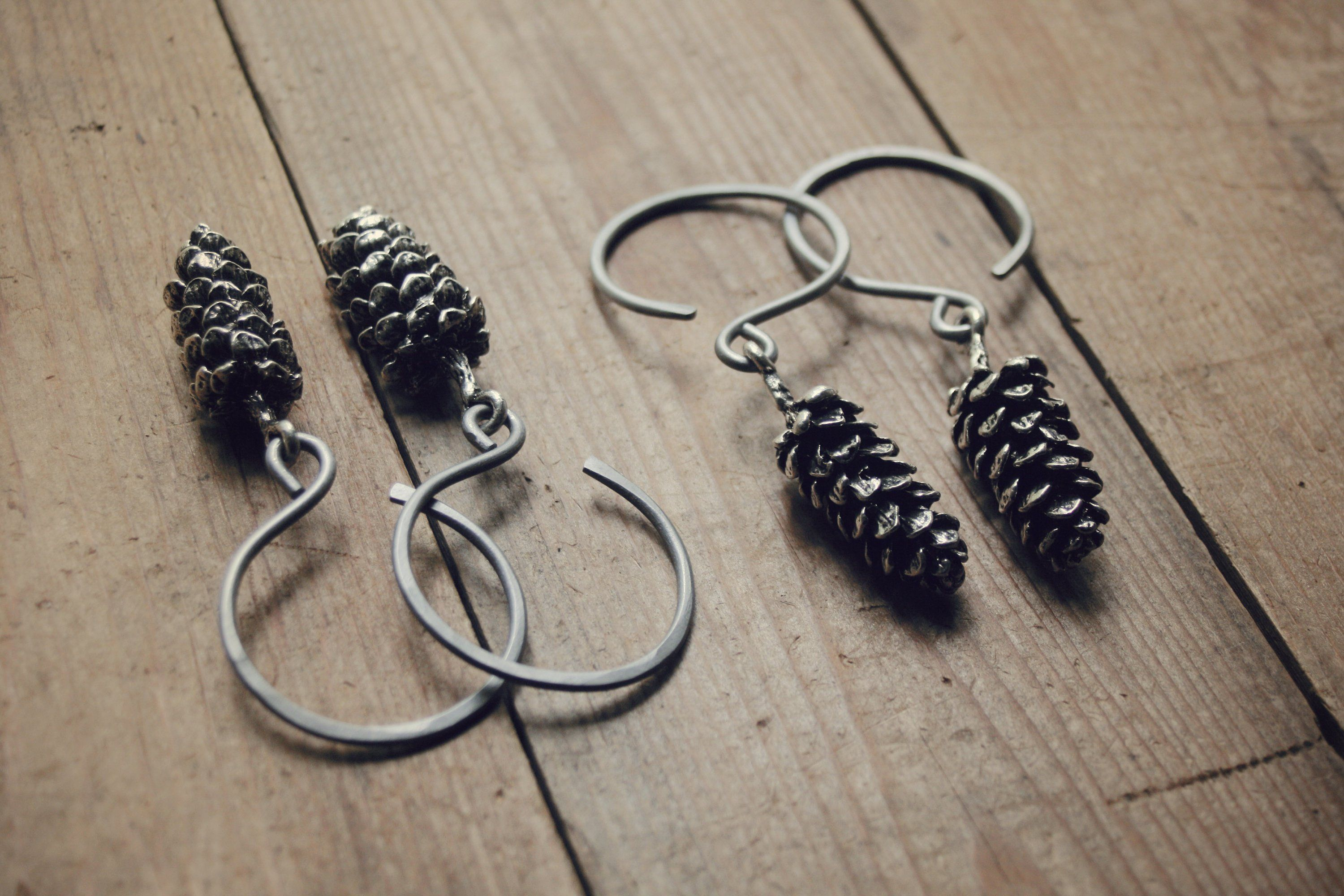 Your Place To Buy And Sell All Things Handmade Stainless Steel Earrings Forest Gift 12 Gauge