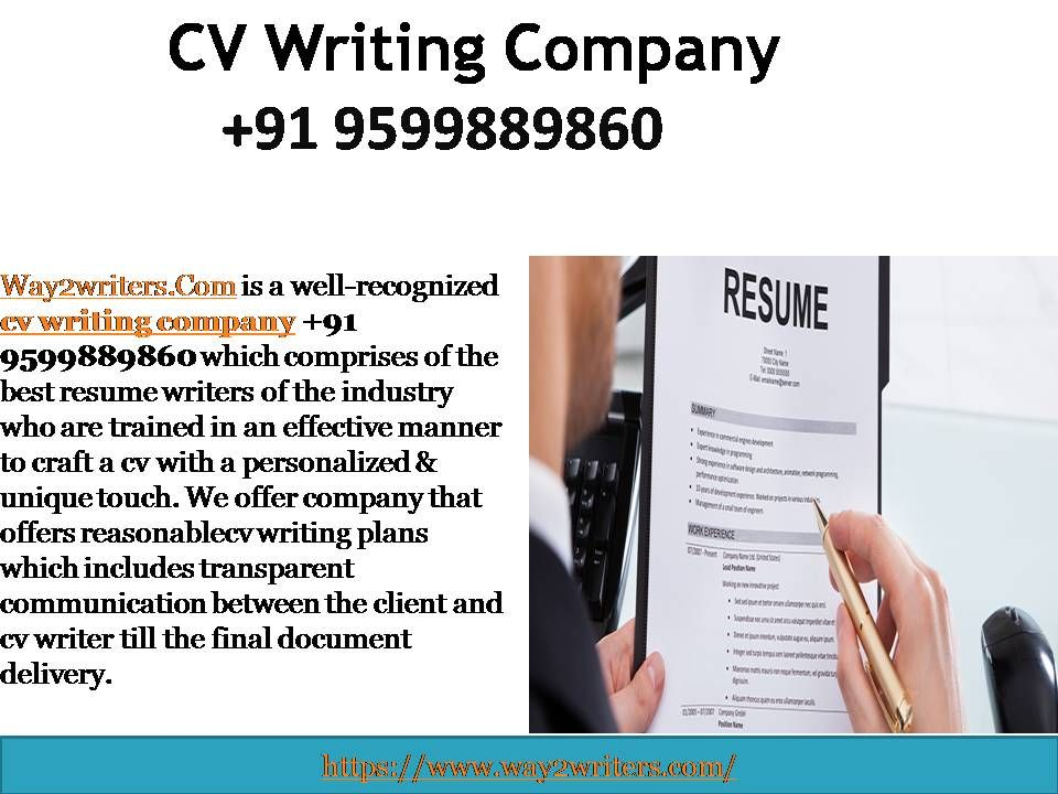 Professional Resume Writing Company in India +91