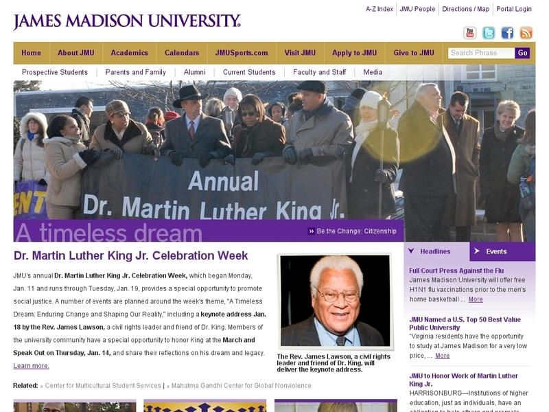 James madison university profile and statistics james