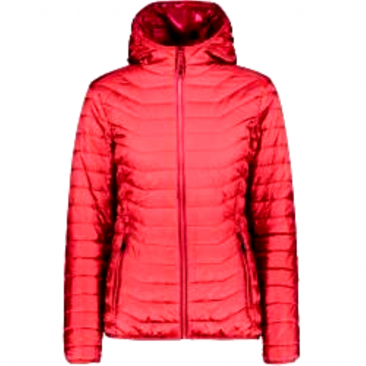 Cmp Damen Freizeitjacke Woman Jacket Fix Hood, Größe 36 In Corallo, Größe 36…