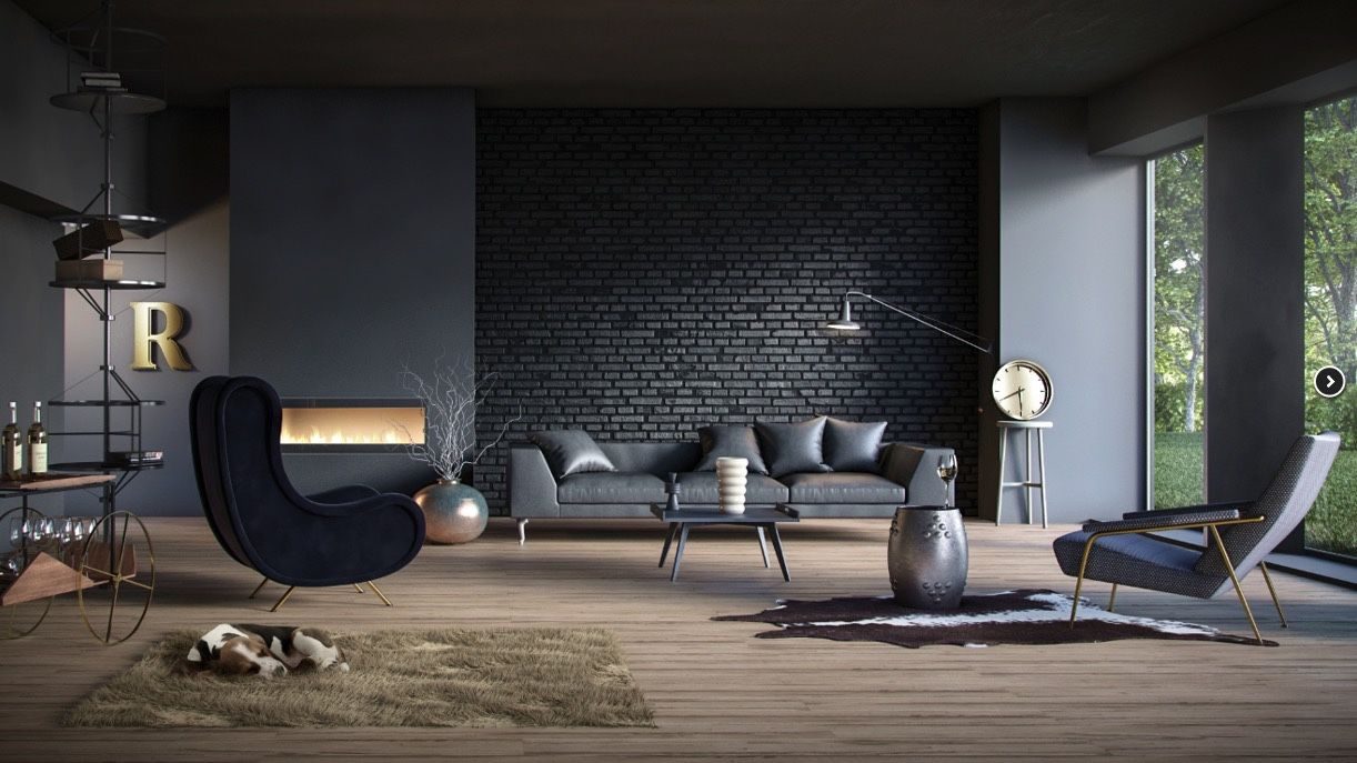 Dark Living Room Design Ideas With Sophisticated Decor Bring The Classy Contemporary Living Room Design Ideas Decorating Design
