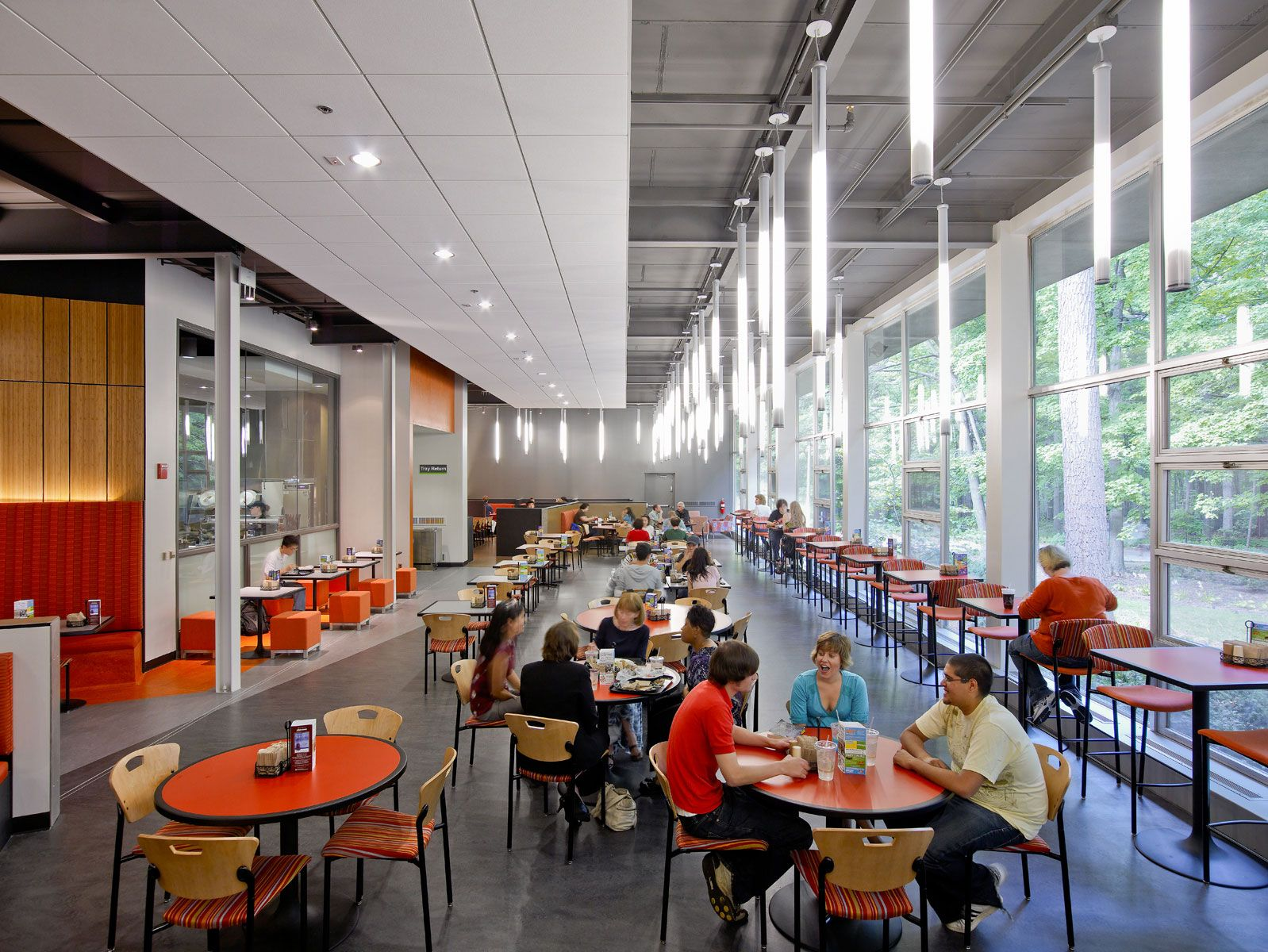 Michigan state university owen hall dining area higher for U of t dining hall