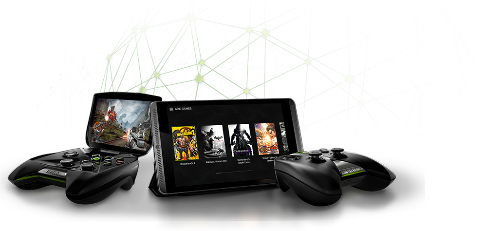 PC games to your SHIELD devices NVIDIA GRID™ GAME