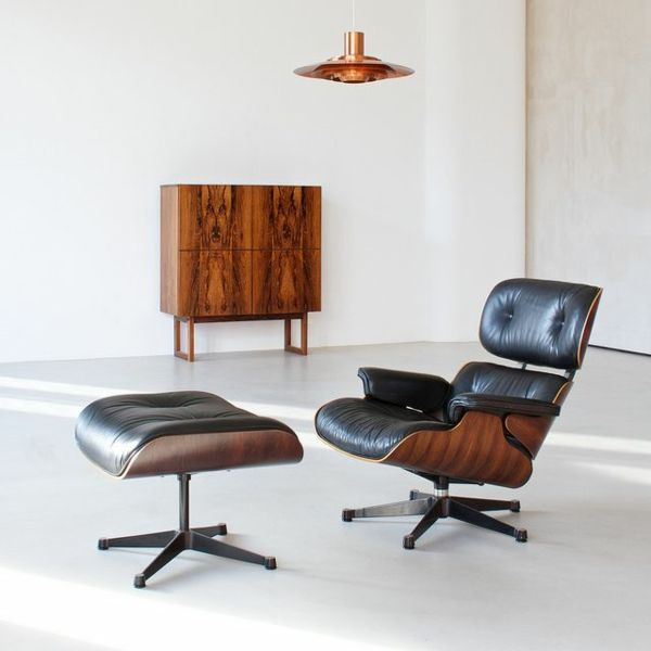 Der Charles Eames Lounge Chair Denkt An Ihren Komfort Lounge