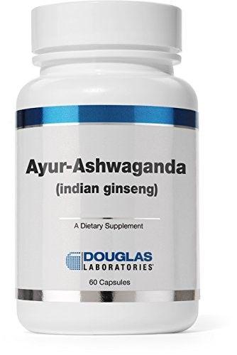 Douglas Labs Ayur Ashwaganda Indian Ginseng 60 Capsules Exp 2 18