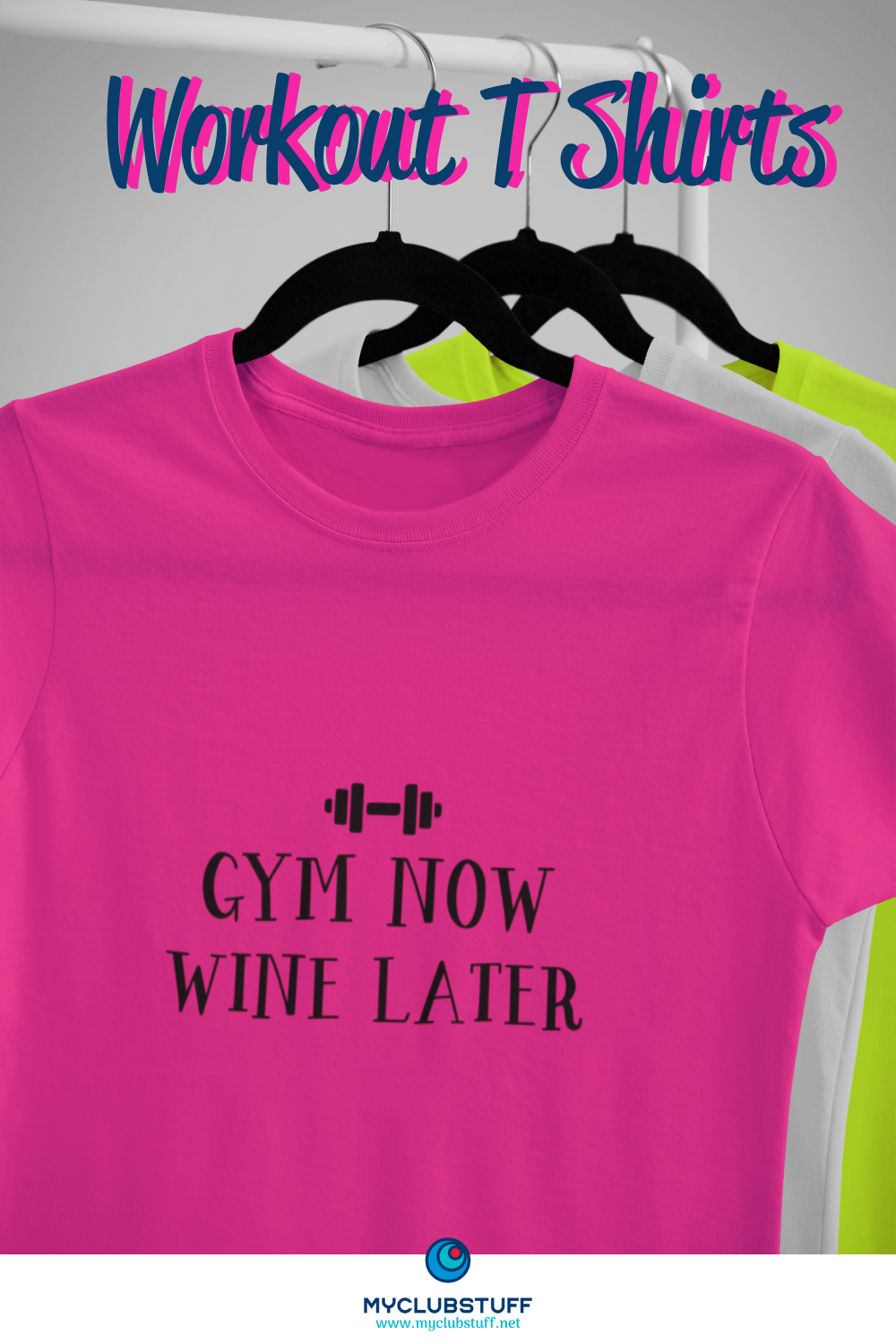 Smart active t-shirt with a fun printed slogan from MyClubStuff - price £10 Made from a modern neote...