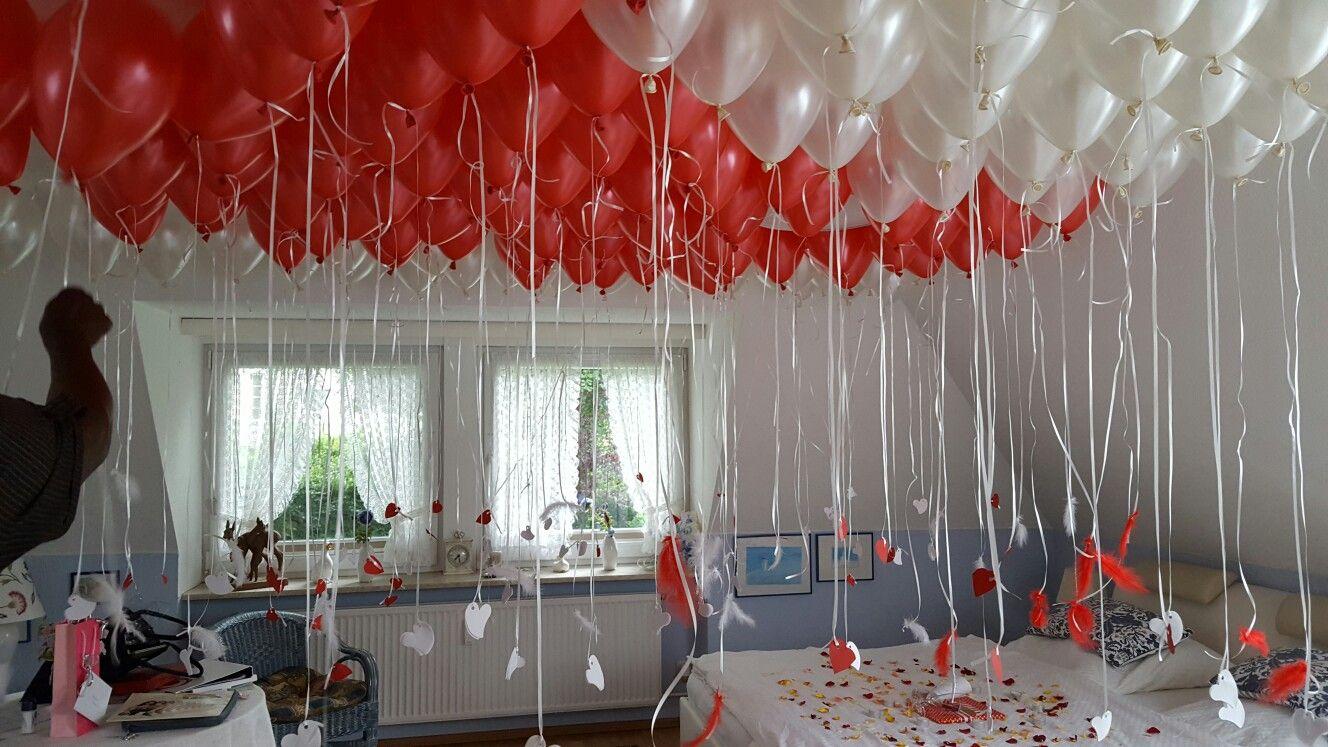 berraschung fr ein Brautpaar  Luma s Ballon Shop in