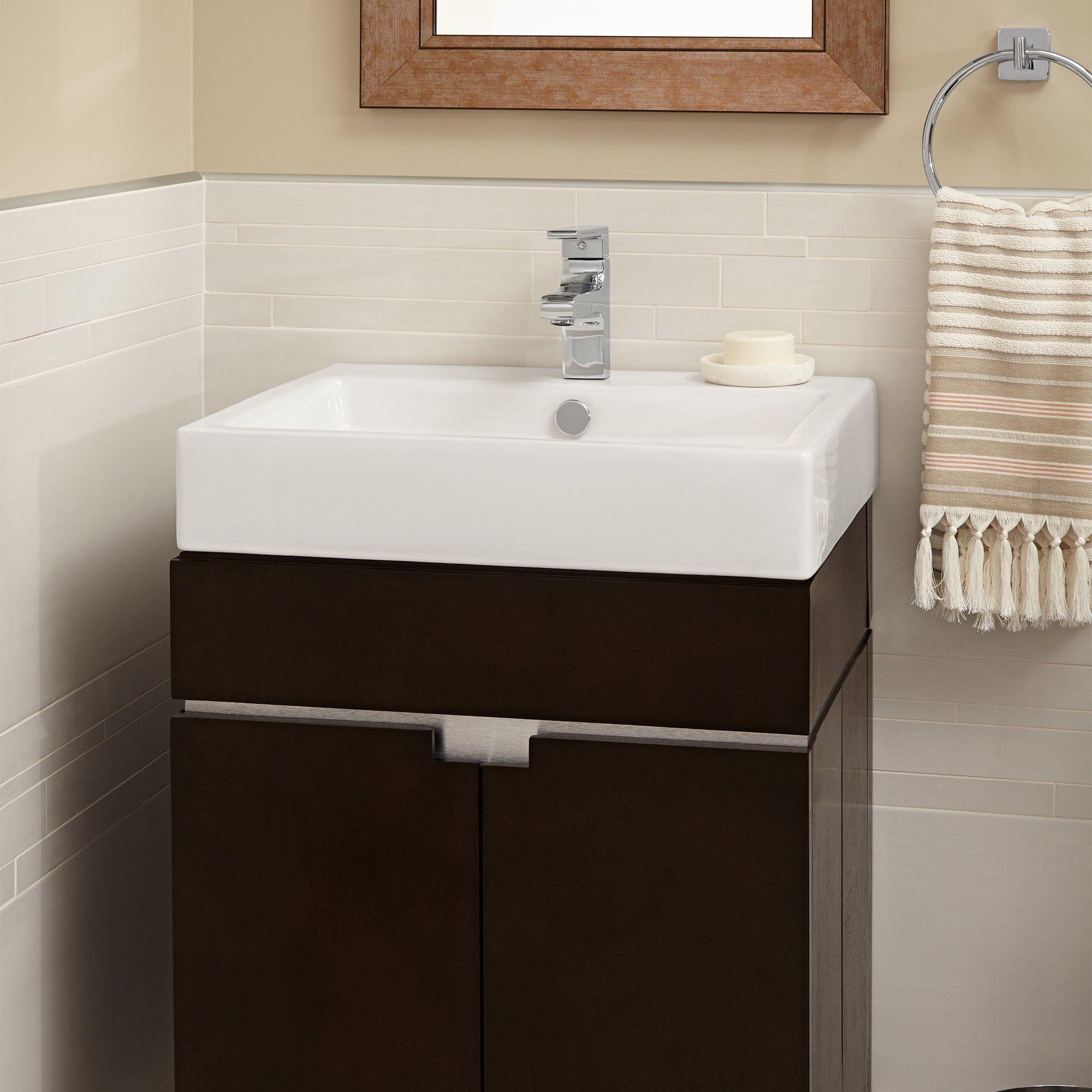 American Standard Studio Above Counter Rectangular Bathroom Sink ...