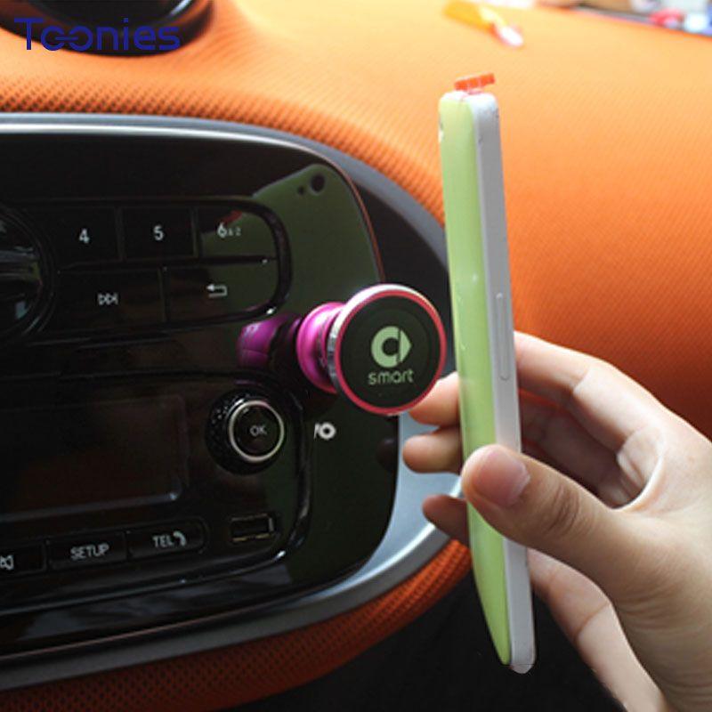 Smart 453 Fortwo Forfour Car Navigation Support Paste Adjustable