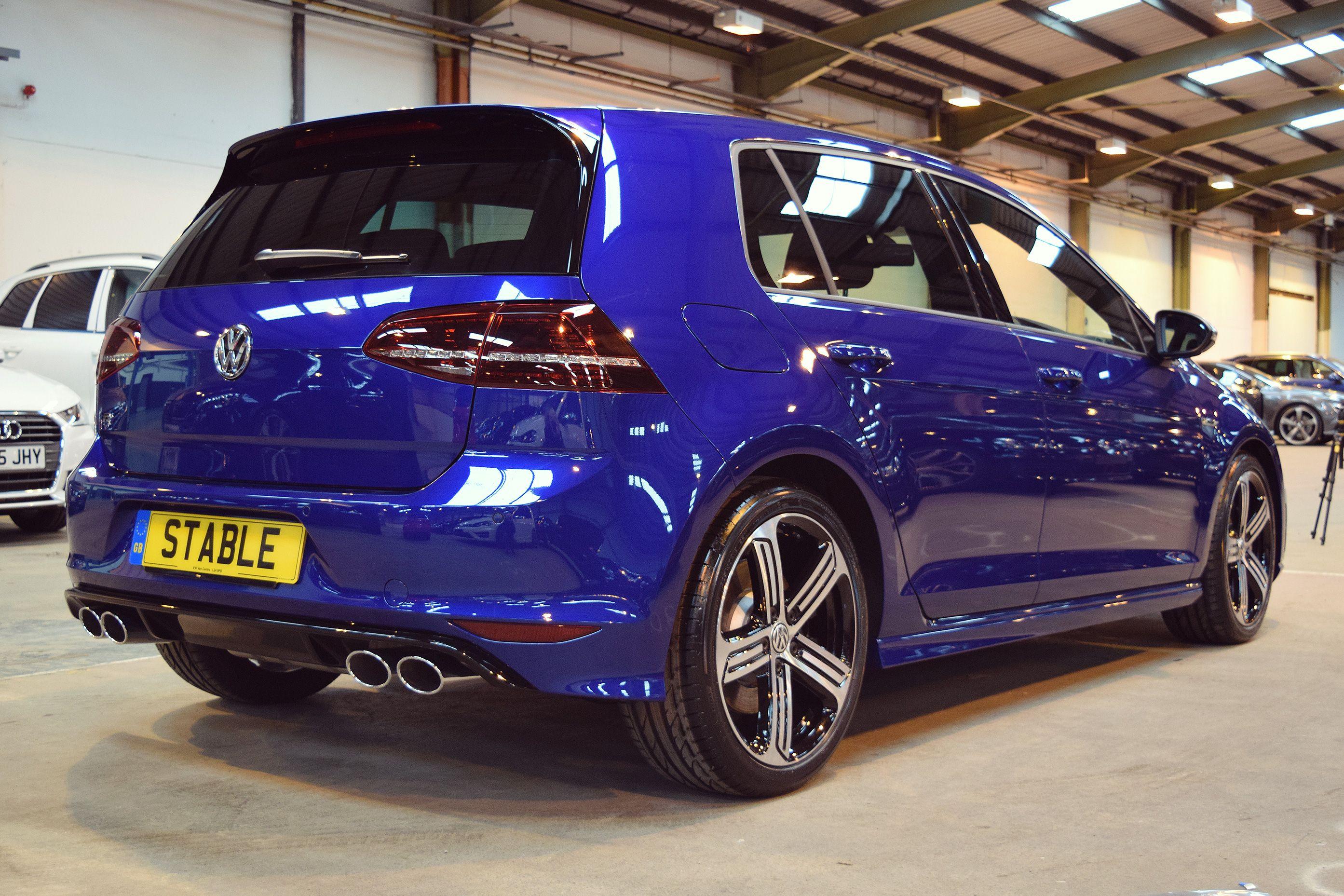 2016 Volkswagen Golf R In Lapiz Blue Volkswagen Vw Golf Vr6