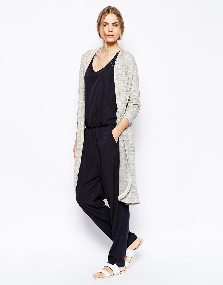 Fashionable cardigan: photos of trend models 63